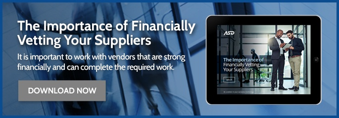 The Importance of Financially Vetting Your Suppliers eBook