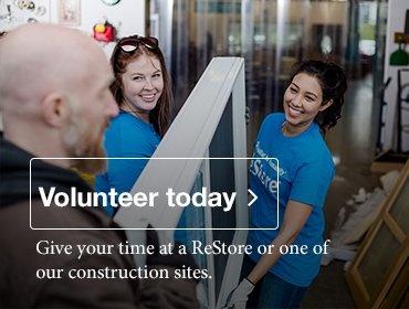 Volunteer with Habitat