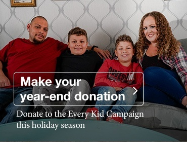 Donate to the Every Kid Campaign this holiday season