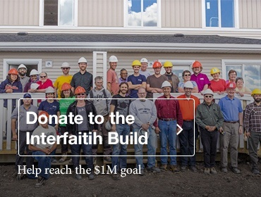 Donate to the Interfaith Build Project