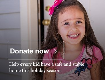 Donate to Habitat for Humanity and the Every Kid Campaign this holiday season