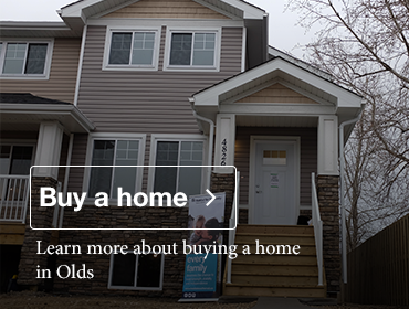 learn more about buying a home in Olds