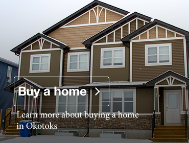 Learn more about buying a home in Okotoks