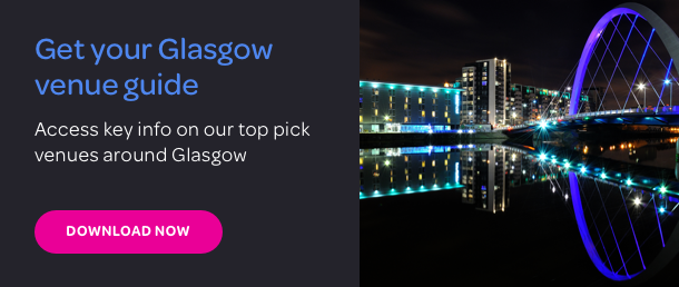 Download your FREE guide to Glasgow's top venues