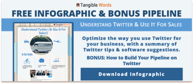 Understand Twitter & Use it For Sales Free Infographic