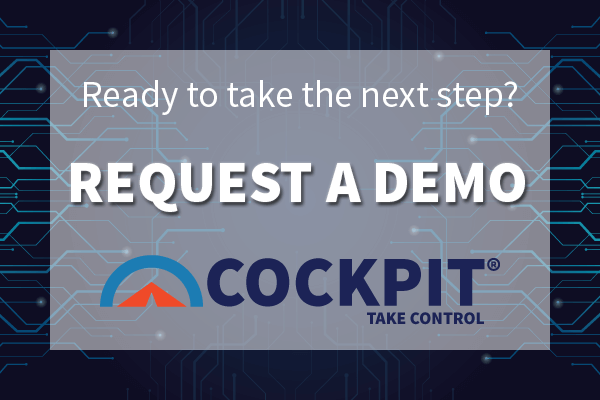 Request a Demo of Cognition's Cockpit Platform