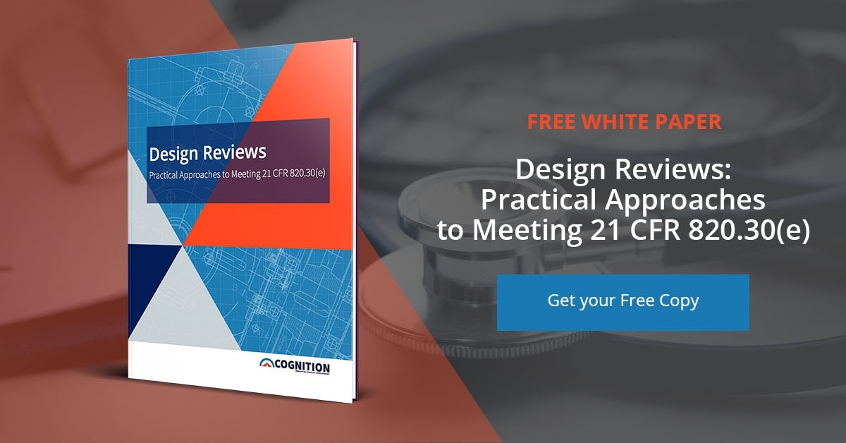 Get Your Free Copy of Cognition Corporation's Design Reviews White Paper