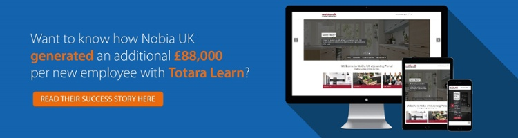 How Nobia UK generated an additional £88,000 per new employee using Totara Learn