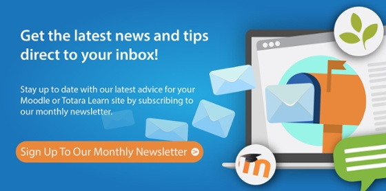 Newsletter SignUp HowToMoodle