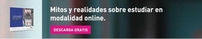 Mitos y realidades sobre estudiar en modalidad online ¡Descarga Gratis!