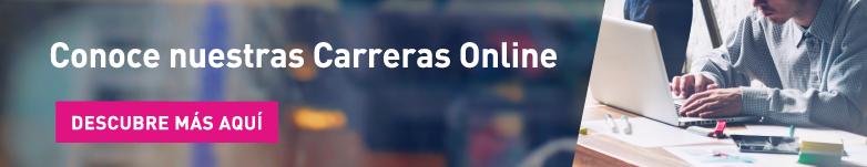 conoce nuestras carreras online