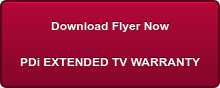 Download Flyer Now PDi EXTENDED TV WARRANTY