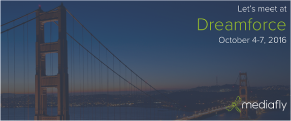 Meet Mediafly at Dreamforce!