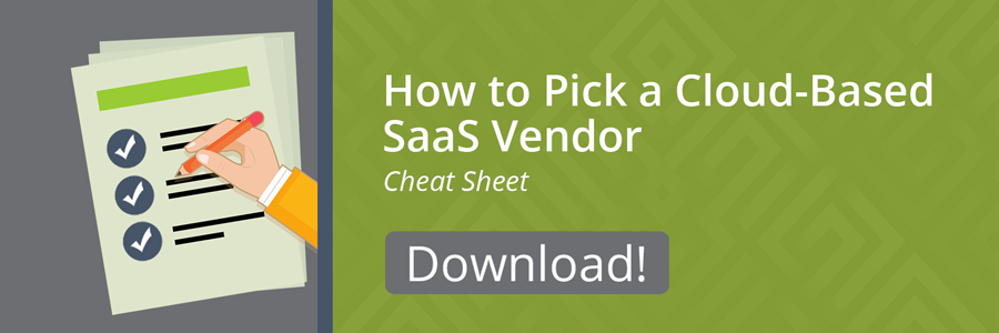 SaaS vendor Cheat Sheet Download