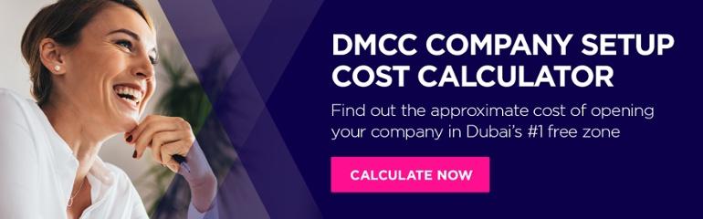DMCC Company Setup Cost Calculator
