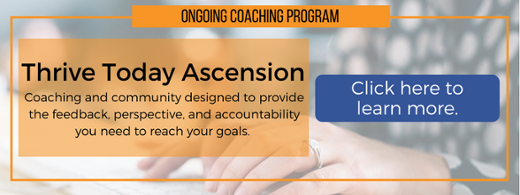 Thrive Today Ascension - Learn More Button