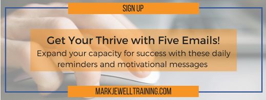 Sign up for Thrive with Five emails