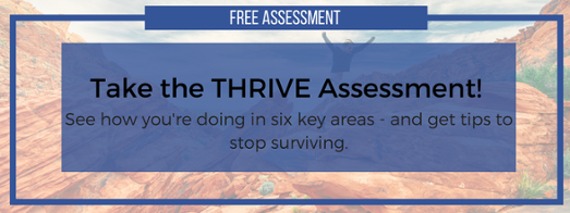 THRIVE Assessment CTA Button