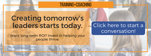 Creating tomorrow's leaders starts today – Call-to-Action Button