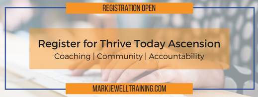 Register for Thrive Today Ascension coaching
