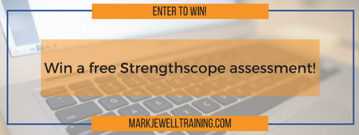 Enter to win a free Strengthscope assessment