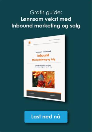 Klikk og last ned gratis guide: Inbound Markedsføring og Salg