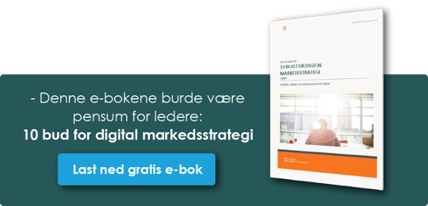 10 bud for Digital Markedsstrategi 2017