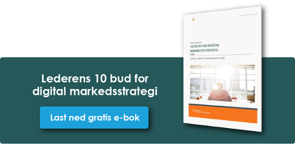 Klikk og last ned 10 bud for Digital Markedsstrategi