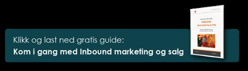"""Klikk og last ned """"Kom i gang med Inbound Marketing og salg"""""""