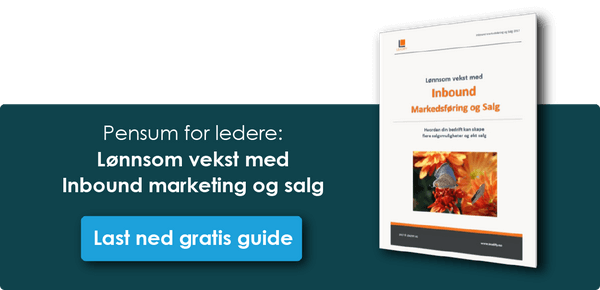 Slik kommer du i gang med Inbound Marketing og Salg