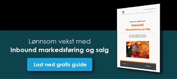 Klikk og last ned gratis guide: Inbound Marketing
