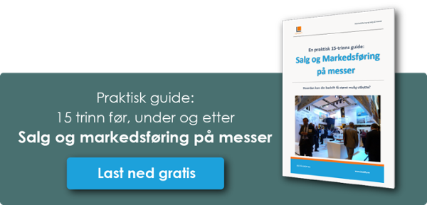 15-trinns guide til salg og Markedsføring på messer