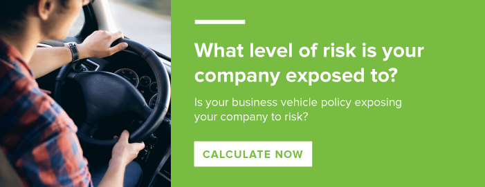 Your companies risk is based on your employees that drive.