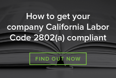 Find out how to get your Car Allowance Labor Code 2802(a) compliant