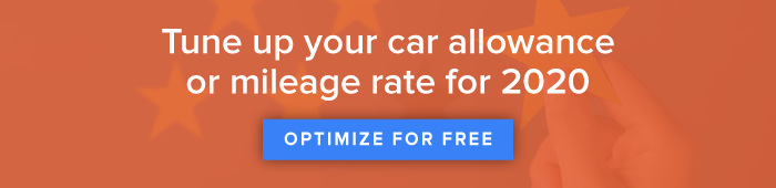 2020 Mileage Reimbursement Rates
