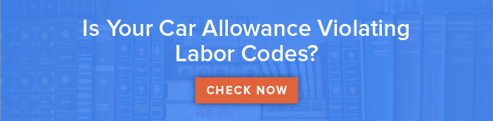 Car allowance and labor code violations