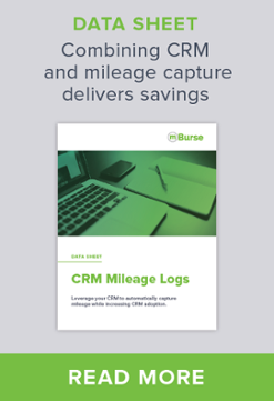 CRM Mileage Tracking is an example of 21st Century Mileage Tracking