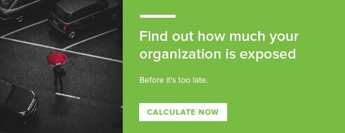 Mobile employee risk calculator