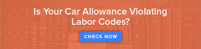 Car Allowance Labor Code Calculator