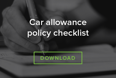 Car allowance policy checklist