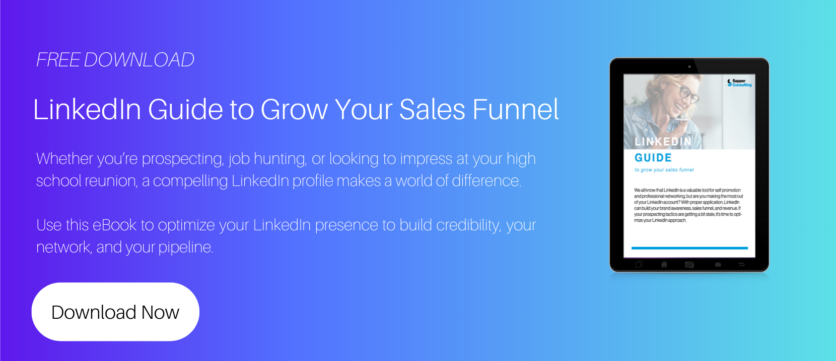 Linkedin Guide to Grow Your Sales Funnel