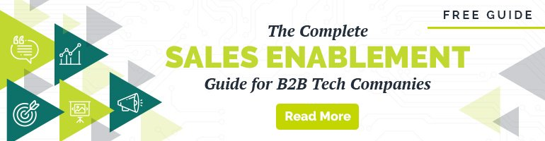 Sales Enablement Guide for B2B Tech Marketers