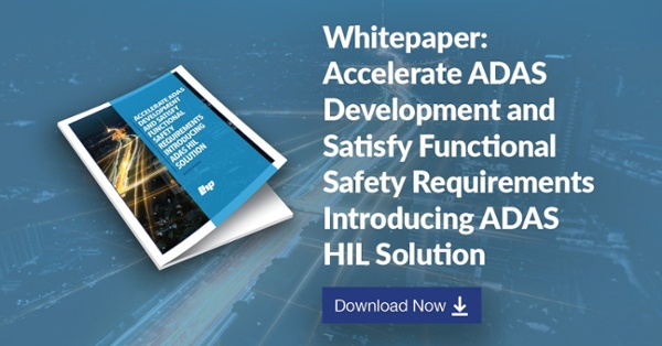 Whitepaper: Accelerate ADAS Development and Satisfy Functional Safety Requirements Introducing A3DAS. Download Now!