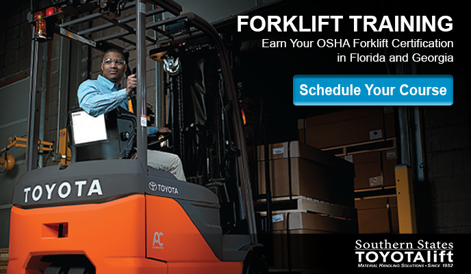 Forklift Operator Training - Schedule Your Course