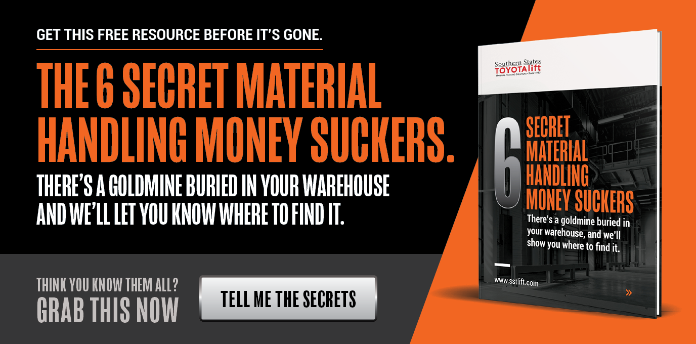 The 6 Secret Material Handling money Suckers: Download the Guide