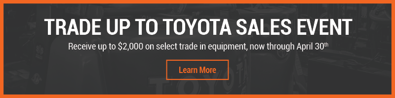 Trade Up to Toyota Sales Event - Home page
