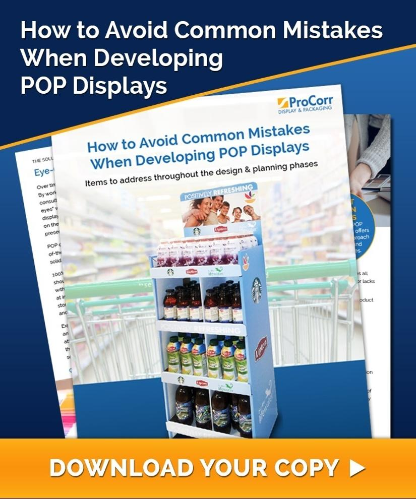 How To Avoid Common Mistakes When Developing POP Displays