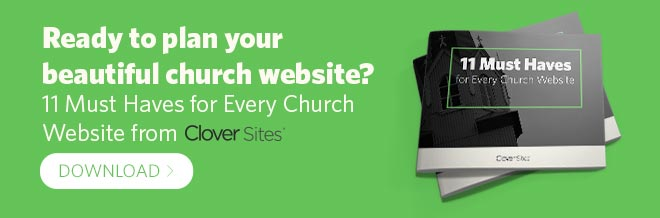 11 must haves for church websites