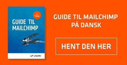 Hent Mailchimp Guide på dansk