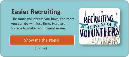 Download: Recruiting Volunteers - 5 Steps to Success